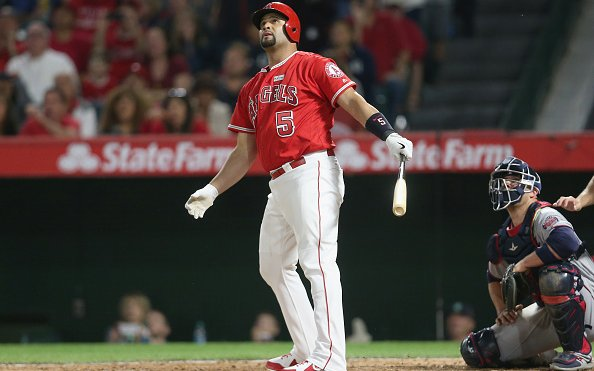 Image for Albert Pujols Released By Los Angeles Angels