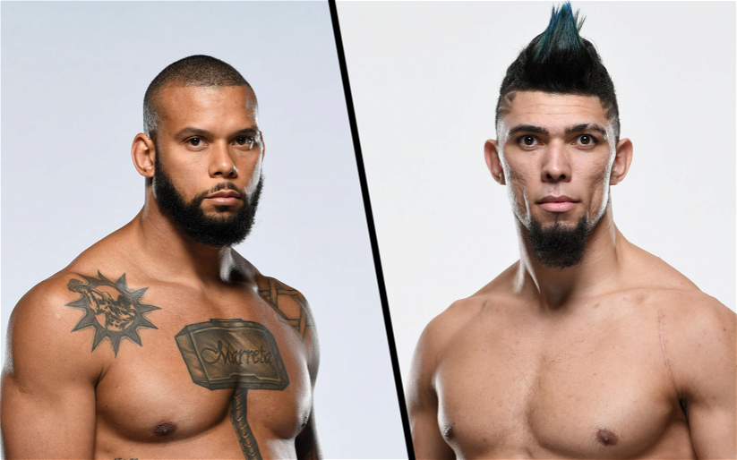 Image for A Stunning Matchup Between Thiago Santos and Johnny Walker is Set for September