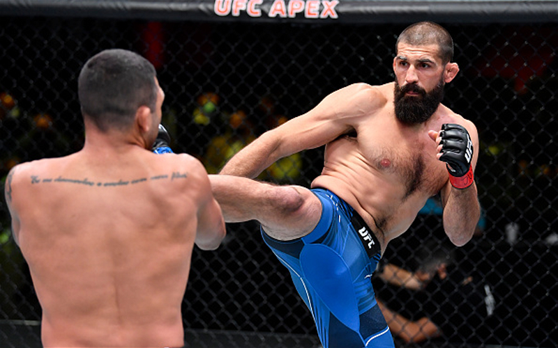 Image for UFC Vegas 27 Prelims Fighters to Watch: Silva, McGee, and Dvorak Rose to the Occasion