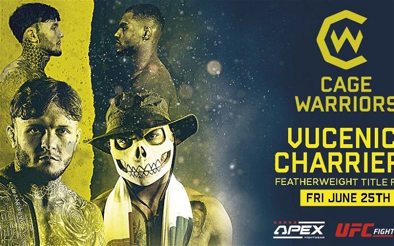 Image for Jordan Vucenic vs Morgan Charrière 2 booked for Cage Warriors 124 on June 24th