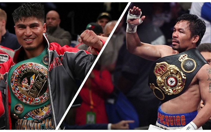 Image for Pacquiao keeps Mikey Garcia hanging