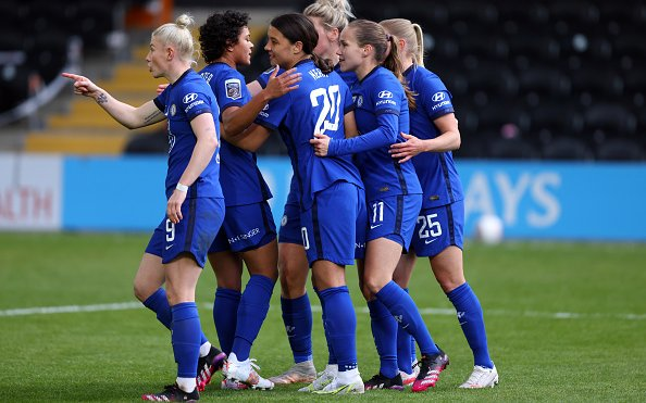 Image for Chelsea Women Best in the World