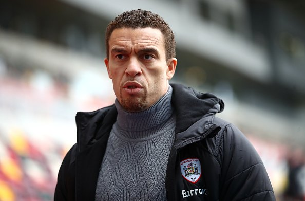 Barnsley manager Valerien Ismael poses before their Championship match against Brentford earlier on this season.
