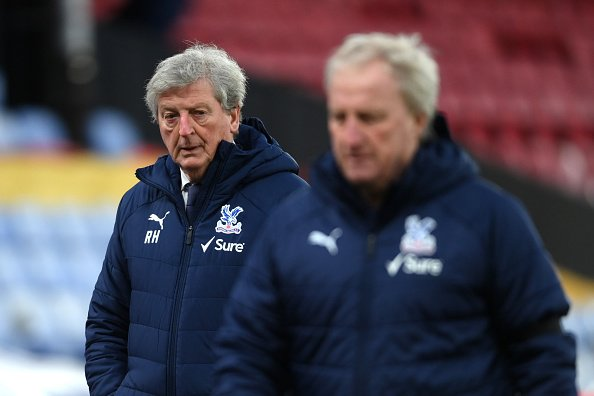 Roy Hodgson in the Premier League match between Crystal Palace and Chelsea at Selhurst Park.