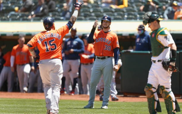 Image for Astros Vs Oakland Series: Houston Turns the Tables