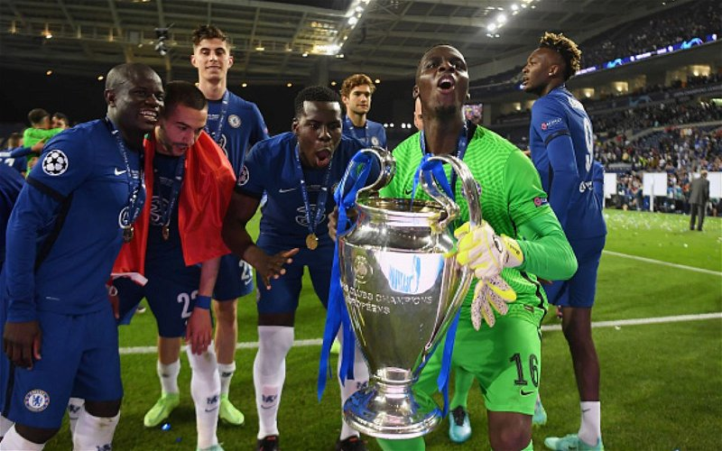 Image for Edouard Mendy: From Unemployed Goalkeeper To New Champions League 2021 Winner