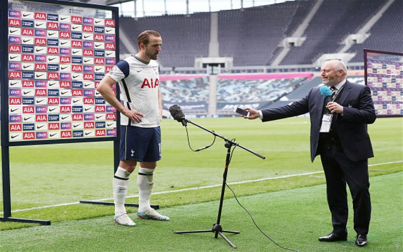 Image for Harry Kane Asks To Leave Spurs in the Summer.