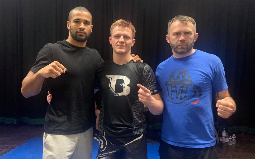 Image for Keir Harvie Grabs Cage Warriors Debut With Both Hands