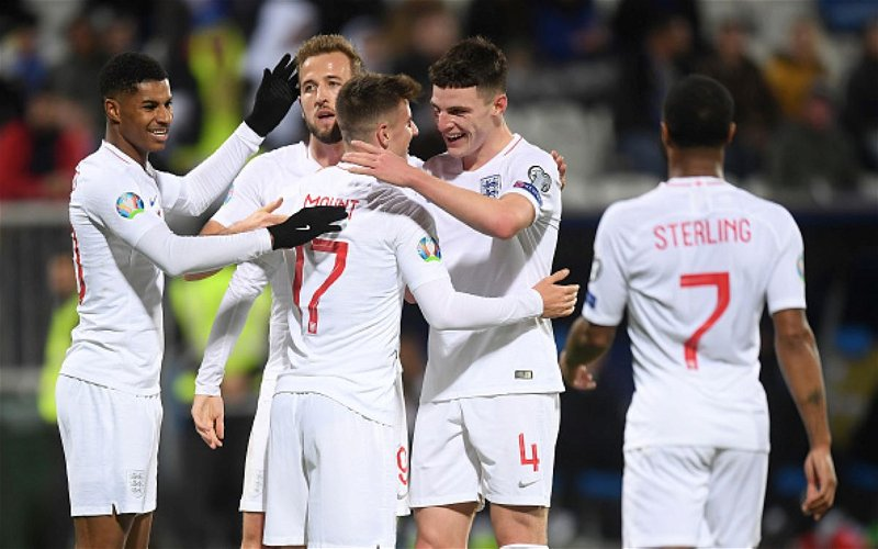 Image for England and France Joint Favorites to Win Euro 2020