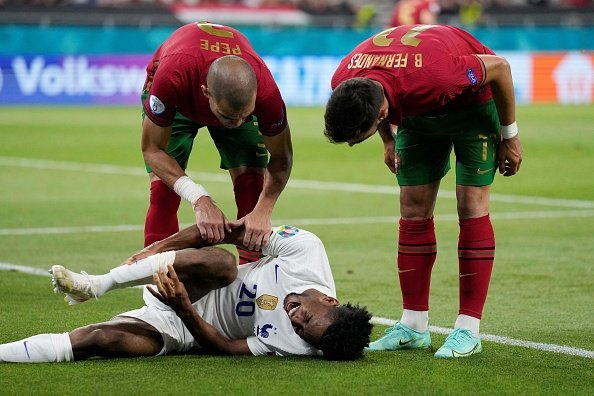 France- Coman, Portugal- Fernandes and Pepe