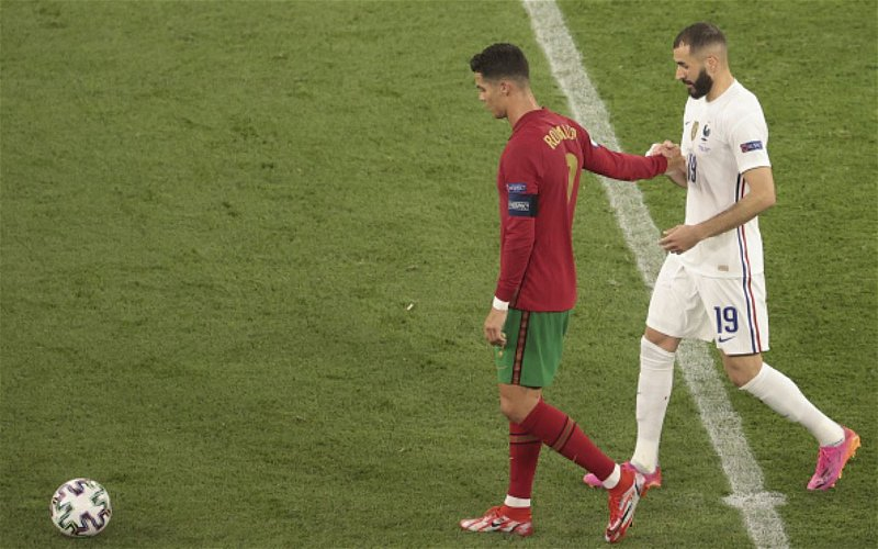 Image for Euro 2020 Match Report: Portugal vs France
