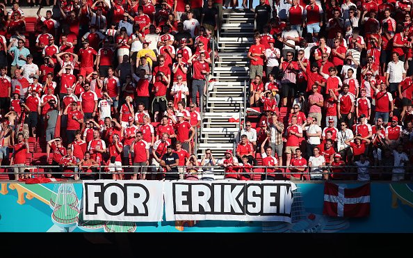 Image for Belgium Pay Touching Tribute to Christian Eriksen