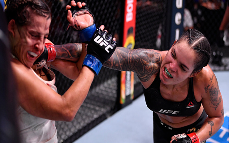 Image for Amanda Nunes Tests Positive for COVID-19: Out of UFC 265