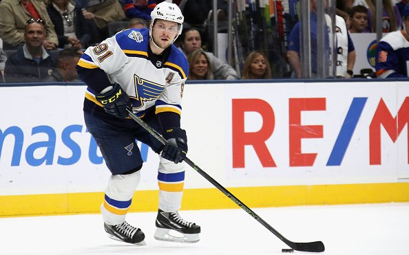 Image for Breaking: Blues sign Buchnevich to 4 year deal