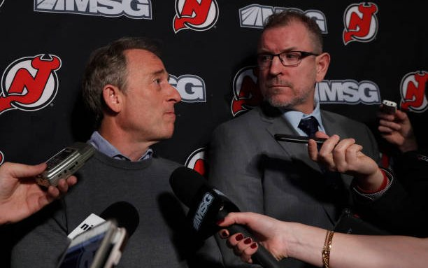 Image for Improving the New Jersey Devils Upper Brass