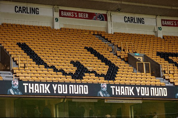 Nuno Espírito Santo's old club Wolverhampton Wanderers thanking him for his time with the club.