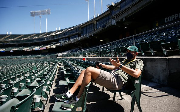Image for The A's Play Mirroring Stadium Talks