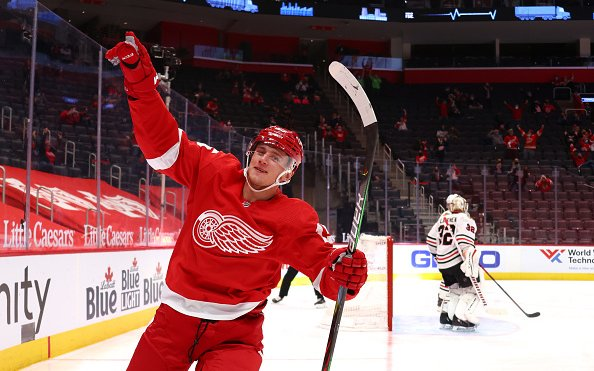 Image for Breaking News: Detroit Red Wings and Jakub Vrana Agree to Contract Extension
