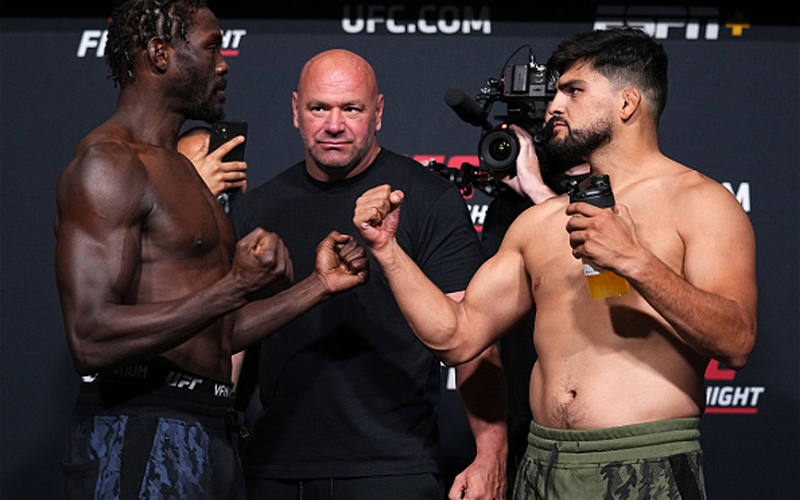 Image for UFC Vegas 34 Weigh-In Results