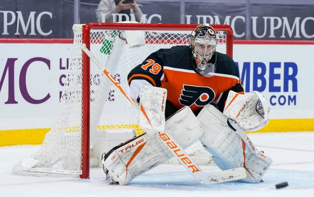 Image for Carter Hart Signs Extension with the Philadelphia Flyers