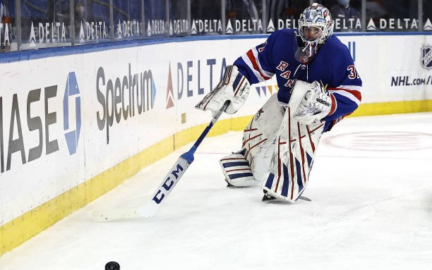Image for Igor Shesterkin Signs Extension with the New York Rangers