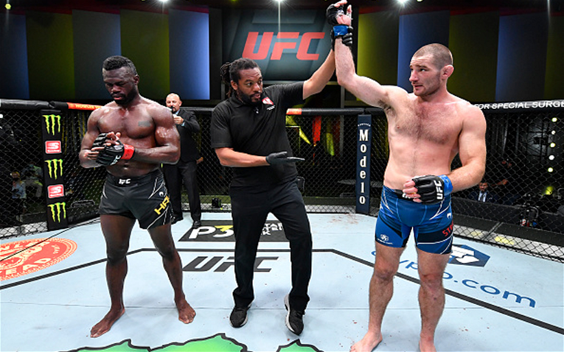 Image for UFC Vegas 33 Results: Sean Strickland Stakes Claim as Contender