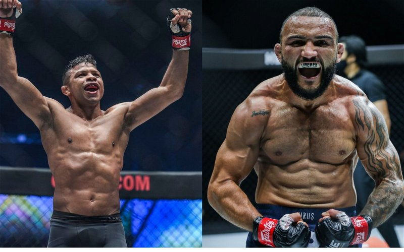 Image for ONE X: All Brazilian Showdown Between Fernandes and Lineker For The Bantamweight Title