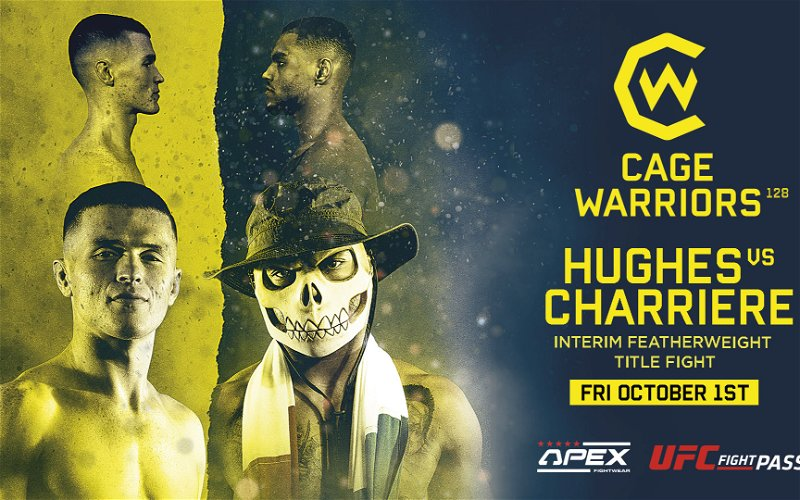 Image for Cage Warriors 128: Hughes vs Charriere Preview