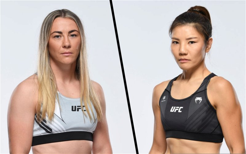 """Image for UFC Vegas 36: Molly """"Meatball"""" McCann vs """"Fire Fist"""" Ji Yeon Kim Fight Preview and Breakdown"""