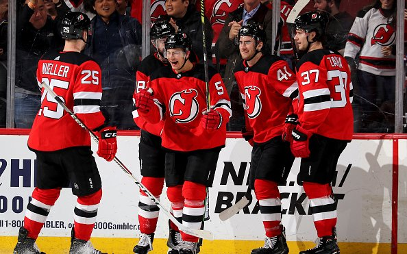 Image for Olympic Hockey and The New Jersey Devils