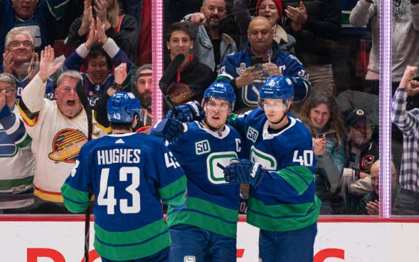 Image for Pettersson and Hughes Agree To New Deals