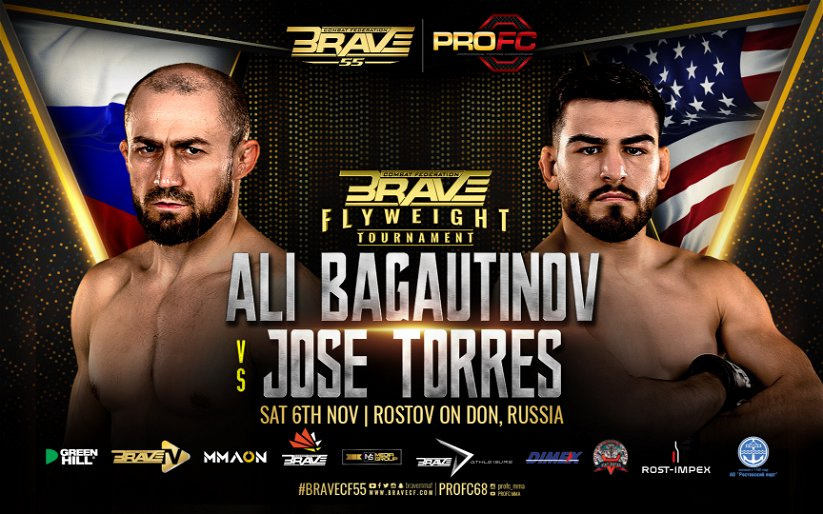 Image for BRAVE 55 Main Event: Bagautinov vs. Torres Preview