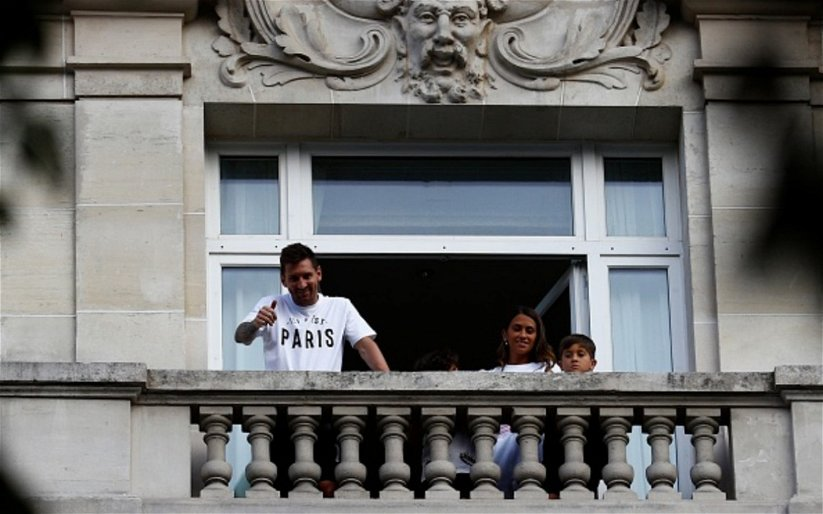 Image for Messi's Hotel Robbed.