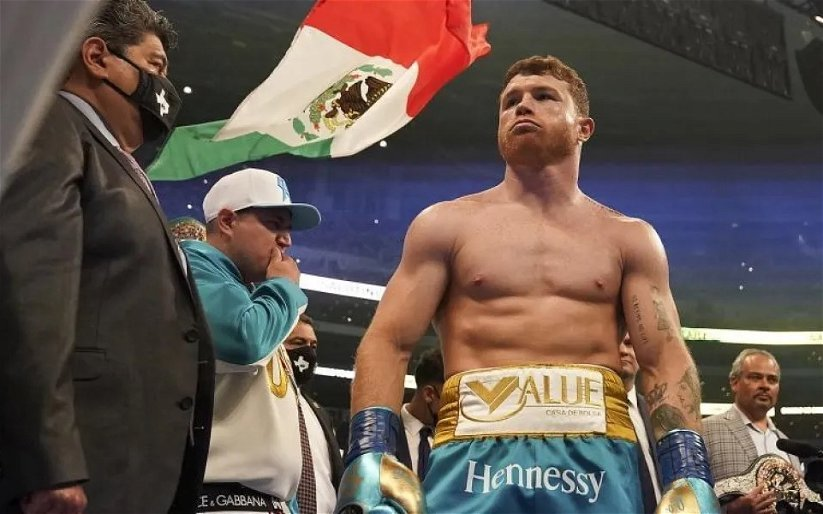 Image for Defiant Canelo Alvarez Flexes His Muscles, Never Going To Fight Golovkin, Andrade