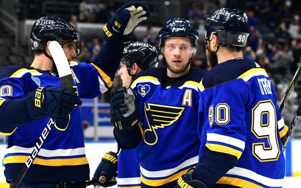 Image for Projecting the St. Louis Blues Opening Night Lineup